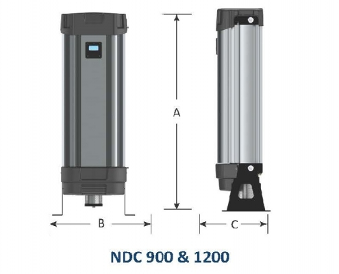dimansion of lab CO2 (NDC 900 & 1200)